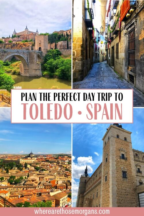 Toledo spain day trip from Madrid one day itinerary