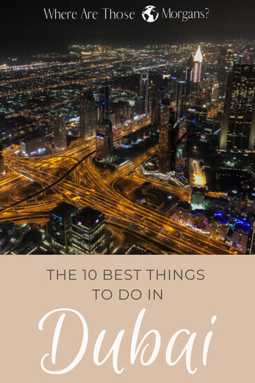things to do in Dubai pinterest
