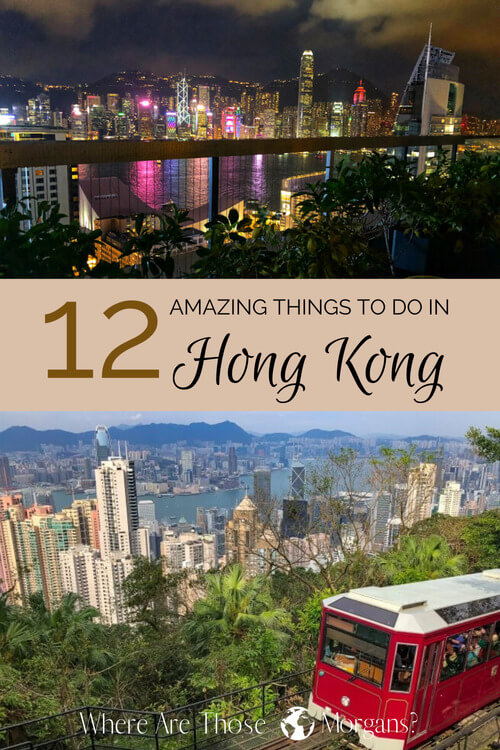 Pinterest graphic Hong Kong things to do