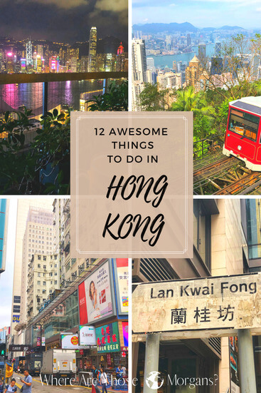 things to do in hong Kong pinterest graphic