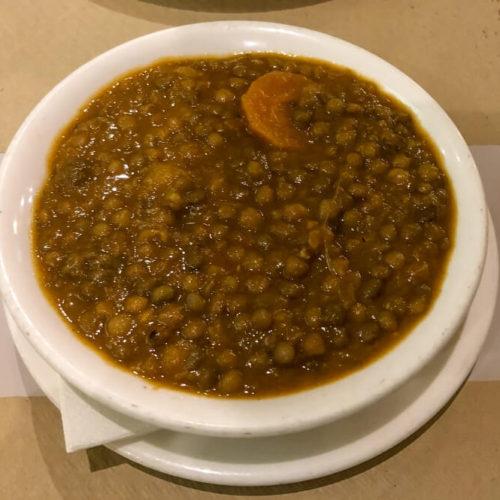 Bean Tapas at Bodega Mezquita