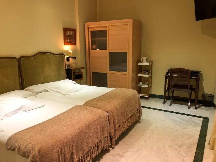Conde de Dardenas hotel room view