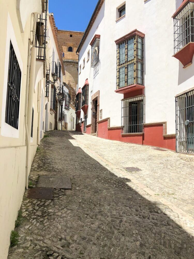 street views of old buildings in Ronda