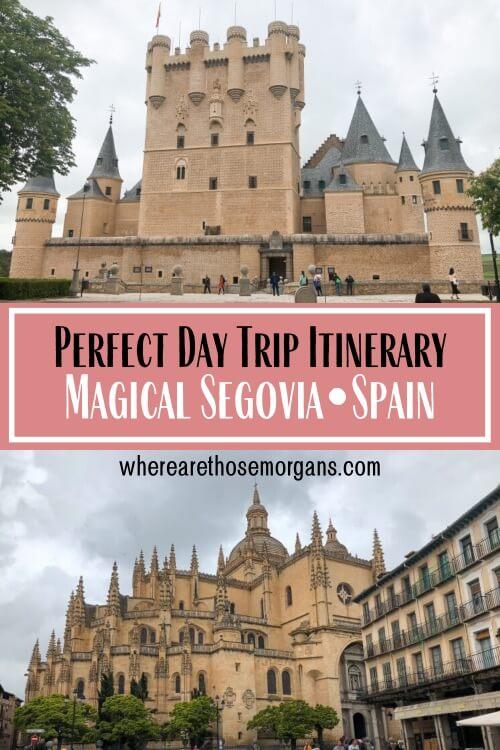 Perfect Madrid Day Trip Magical Segovia Spain