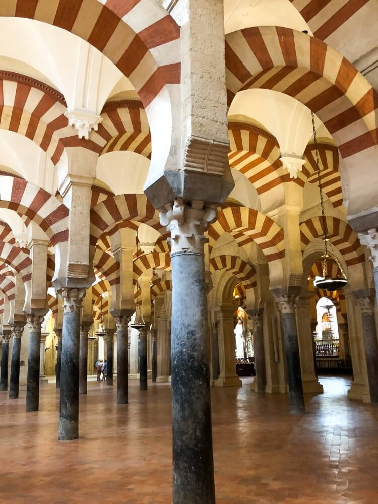 more arches inside the Mezquita
