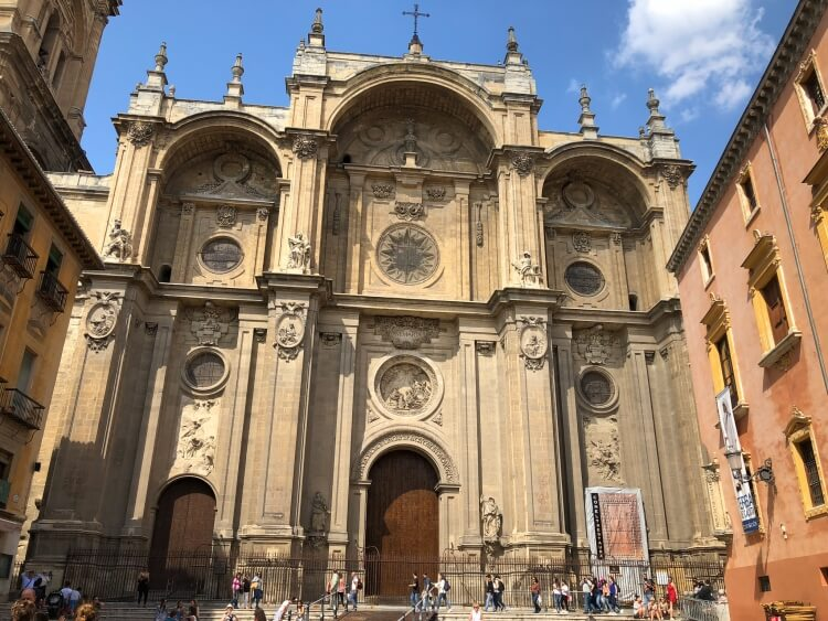 main cathedral in Granada Spain