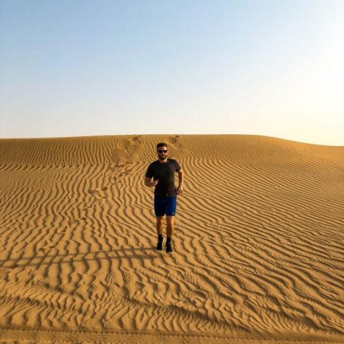 Mark in Dubai