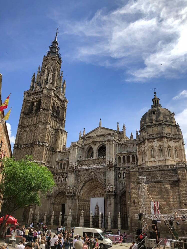 The main Cathedral on a day trip to Toledo