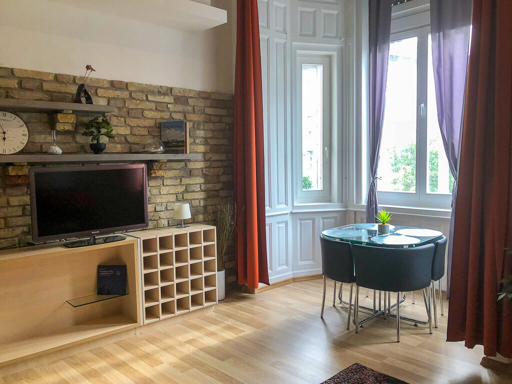 Example of apartment 4 days in Budapest accommodation