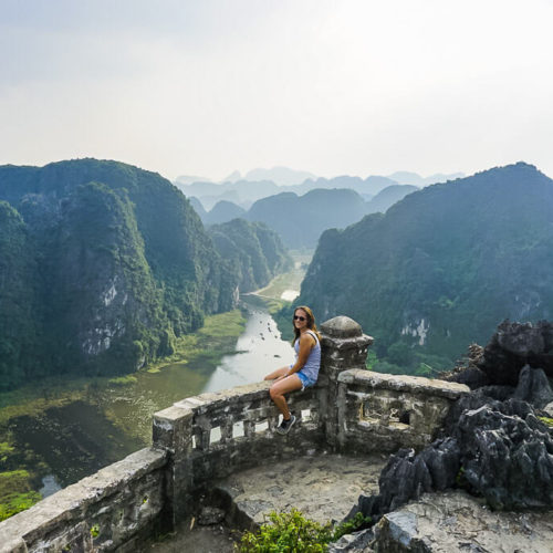 Kristen in Tam Coc Vietnam