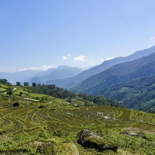 Hills in Sapa Vietnam