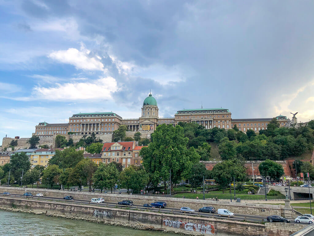 Buda Castle first stop on 4 days in Budapest