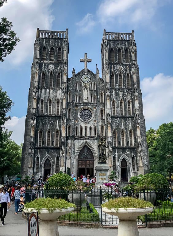St Jospeh's cathedral hanoi itinerary old quarter