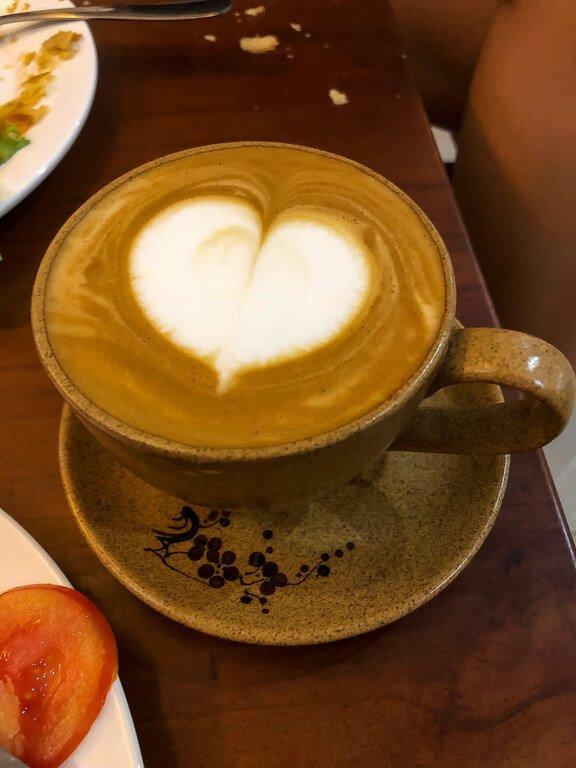 Robusta coffee in Vietnamese cafe Hanoi itinerary