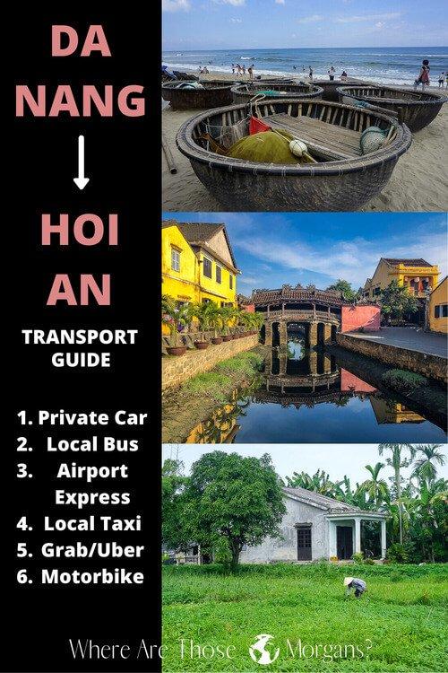 Complete Transport Guide: Da Nang to Hoi An, Vietnam