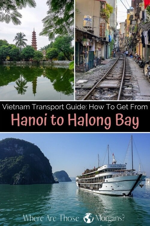 Vietnam Transport Guide: How to get from Hanoi to Halong Bay