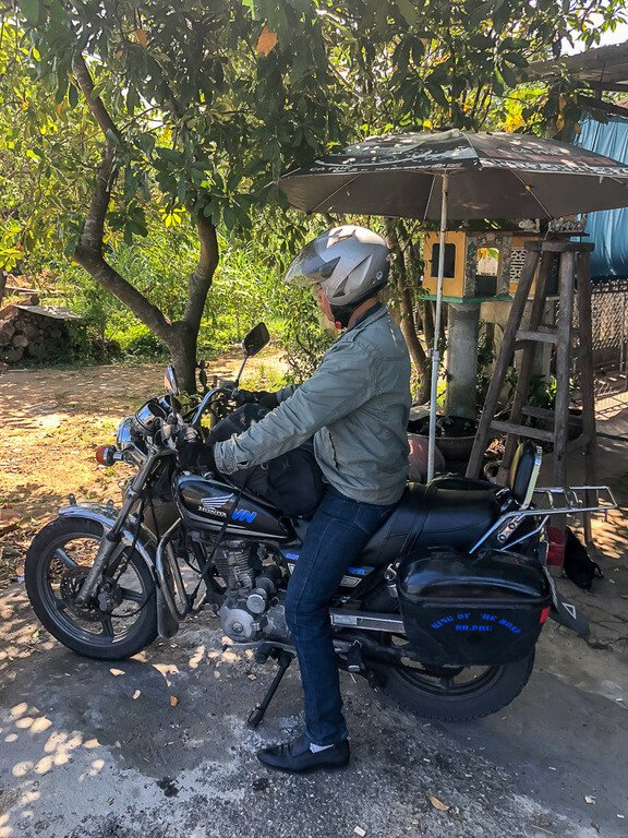 Dr Phu Vietnamese motorbike guide from Hue to Hoi An