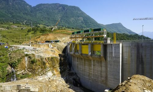 dam being built in sapa valley vietnam