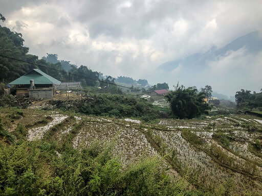 village in sapa valley homestay trekking tour