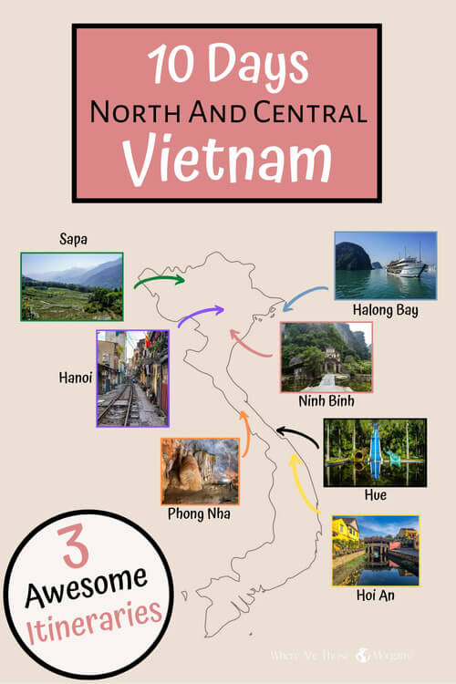 10 Days North and Central Vietnam 3 awesome itineraries