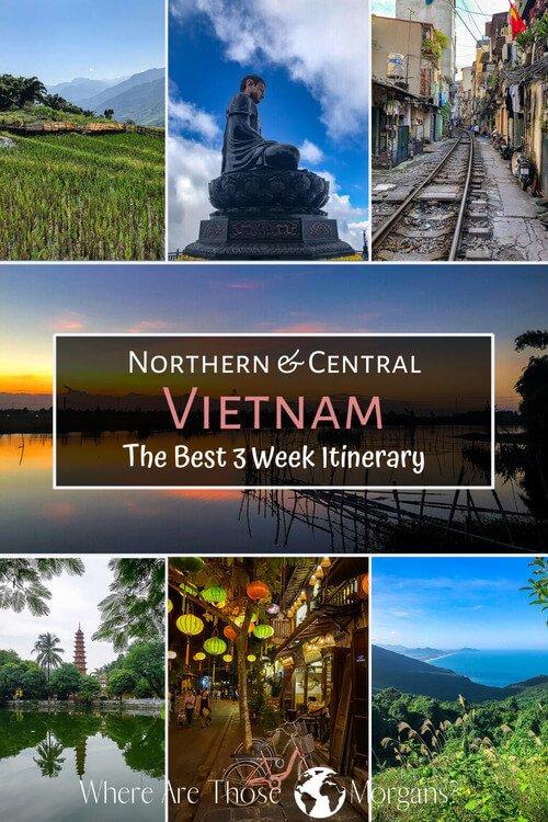 Northern & Central Vietnam Best 3 week itinerary