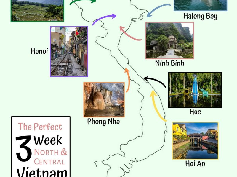Perfect 3 Week Northern and Central Vietnam Itinerary