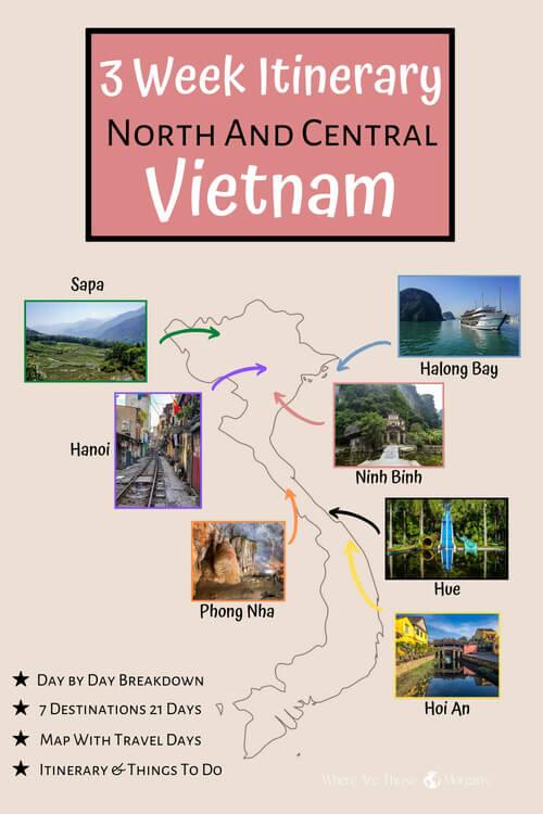3 Week Itinerary North & Central Vietnam