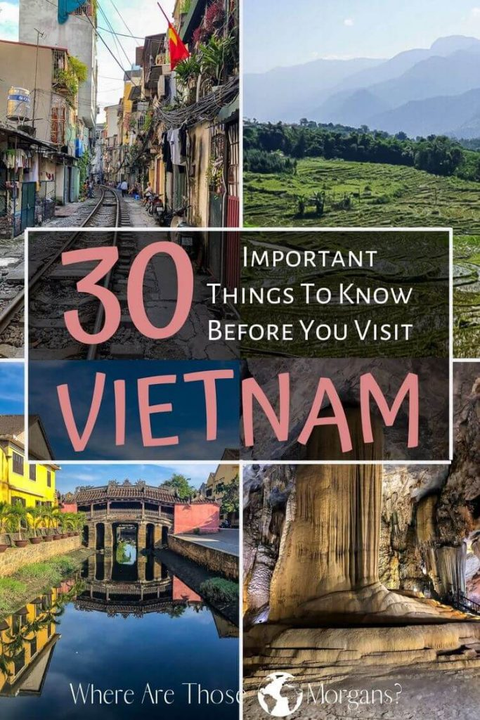 30 important things to know before you visit vietnam