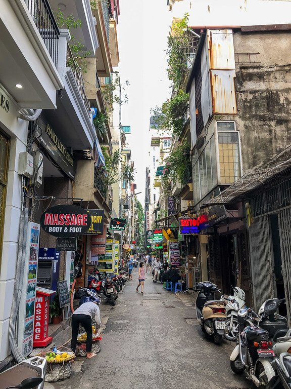 2 days is enough time to spend walking the narrow streets of hanoi