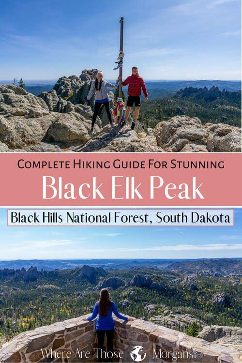 Complete hiking guide for stunning black elk peak black hills national forest South Dakota