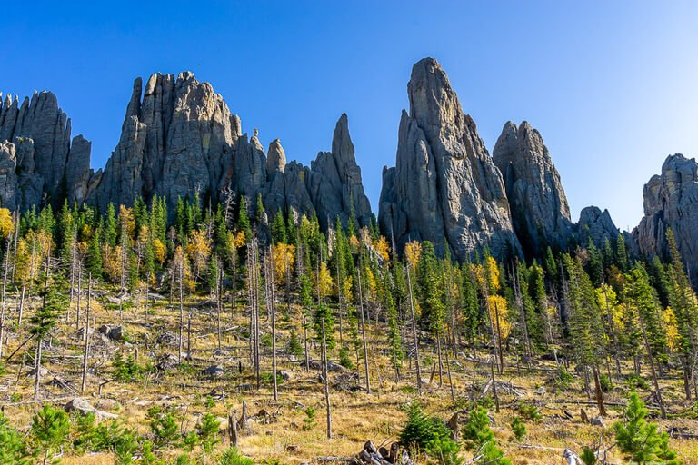 Cathedral Spires hike one of the best things to do in Custer state park