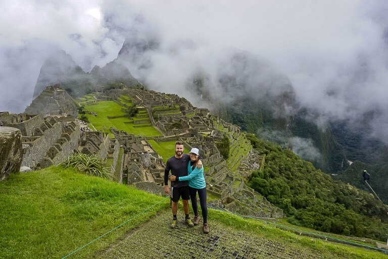 Where are those Morgans hiking tip for beginners pick the right time to hike Machu Picchu covered in clouds