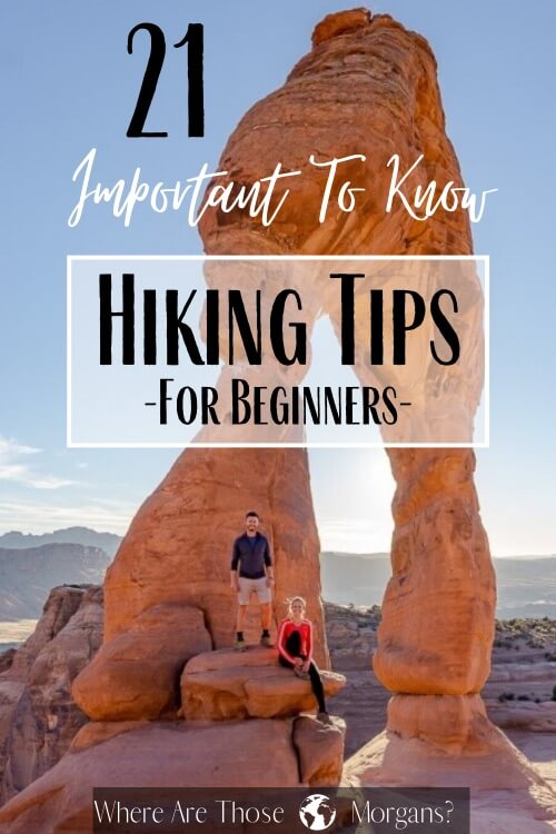 21 important to know hiking tips for beginners