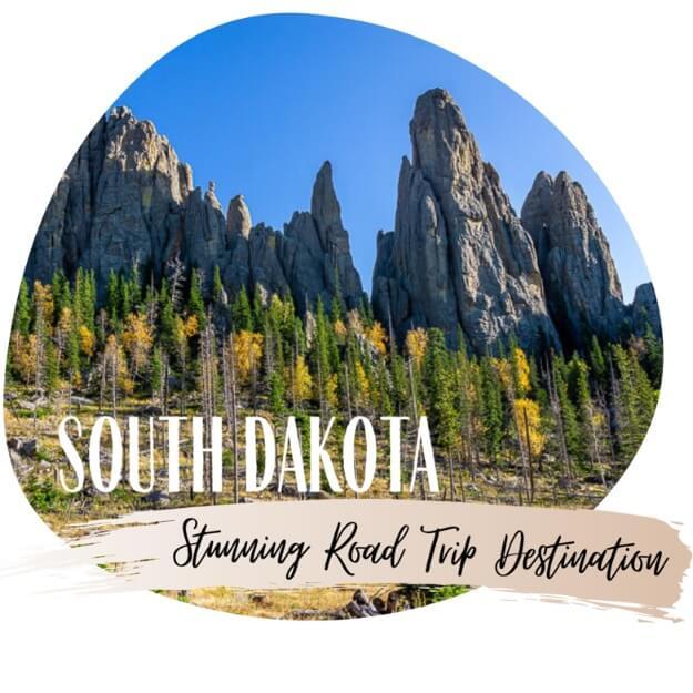 4 day South Dakota road trip itinerary