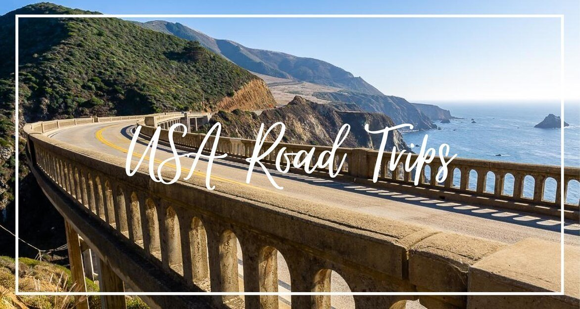 USA road trips where are those morgans California highway 1 Utah Mighty 5 South Dakota Wyoming New England the best road trips in America itineraries and guides