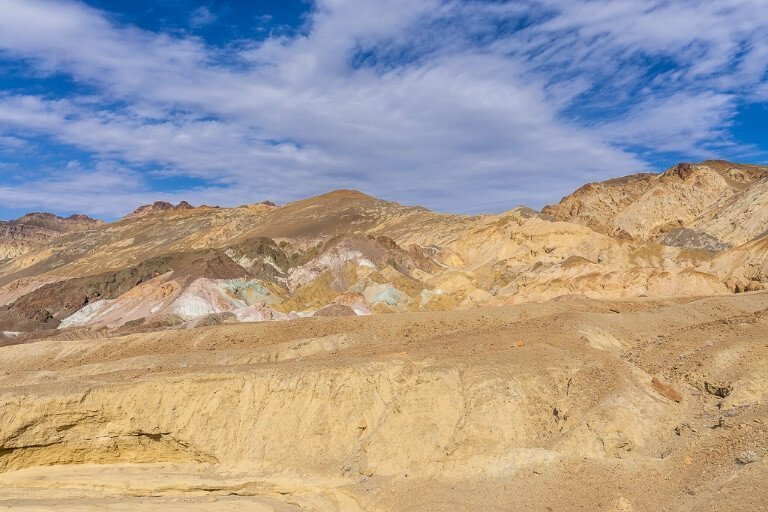 Artists Palette colorful mounds Death Valley things to do in one day itinerary