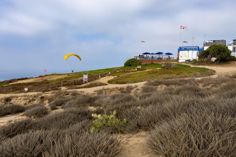 Torrey Pines gliderport in San Diego