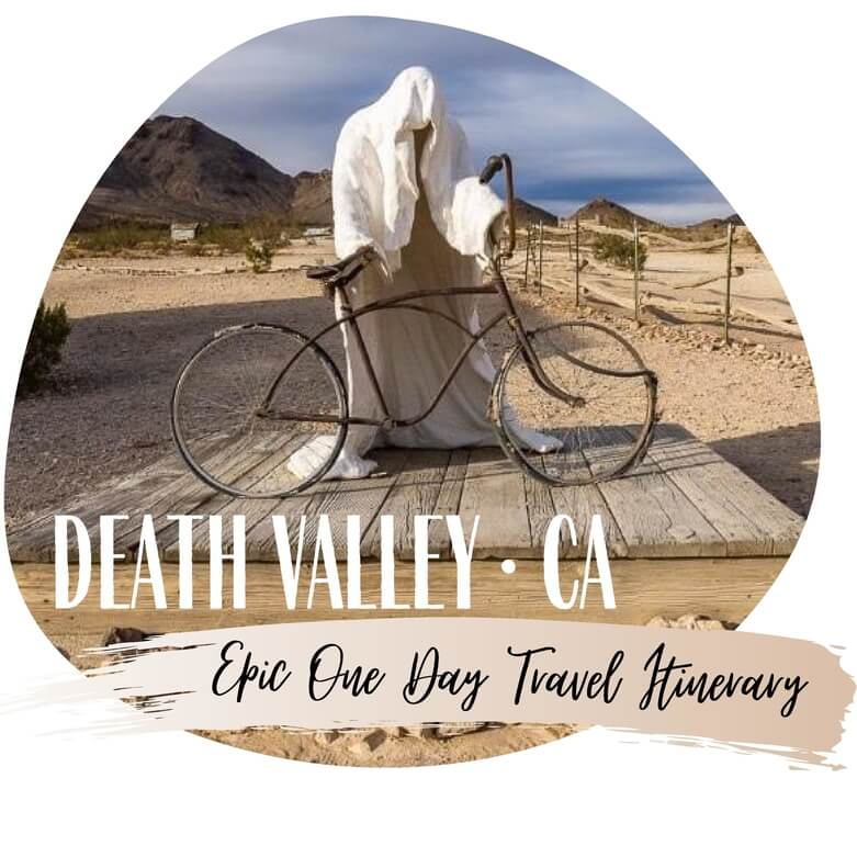 Death Valley national park California featured itinerary where are those Morgans