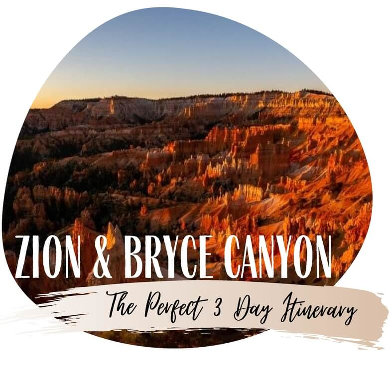 Zion and Bryce Canyon 3 day itinerary where are those morgans featured travel itineraries
