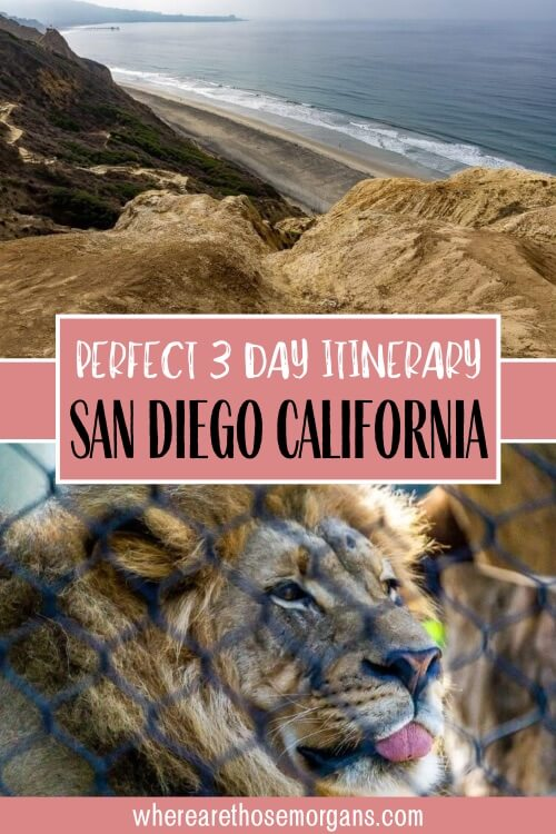 Perfect 3 Day Itinerary San Diego California