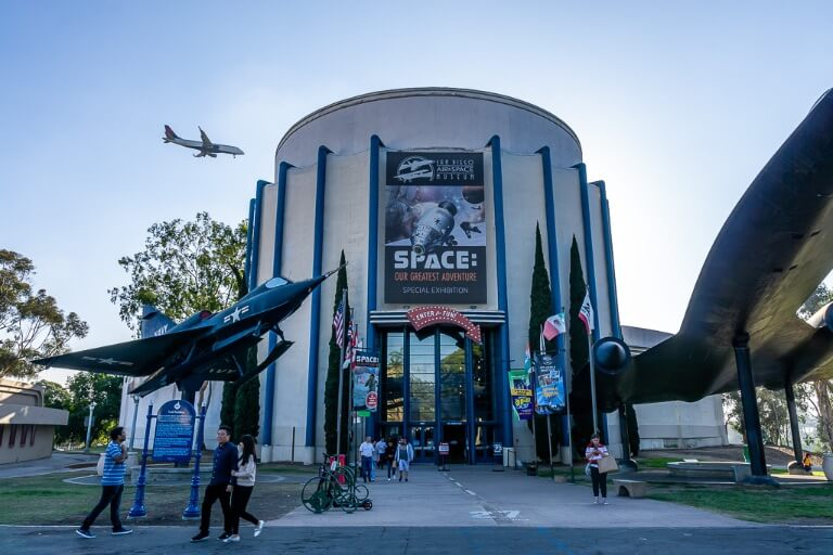 San Diego air and space museum Balboa park