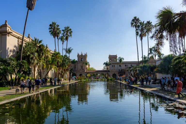 San Diego Lily Pond Balboa Park 3 day itinerary San Diego