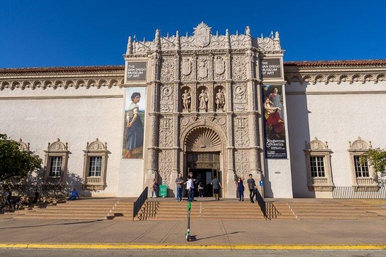 San Diego Museum of Art Balboa Park