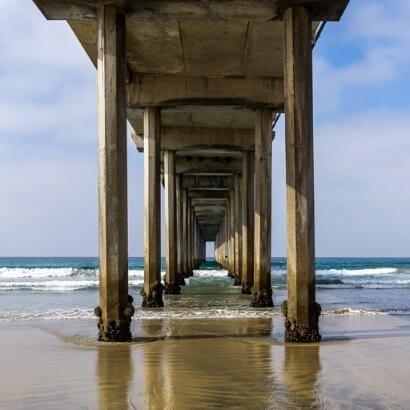 Ellen Browning Scripps Memorial Pier San Diego California