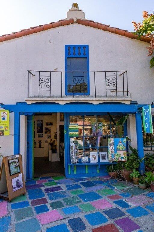 Spanish village art center in Balboa park San Diego