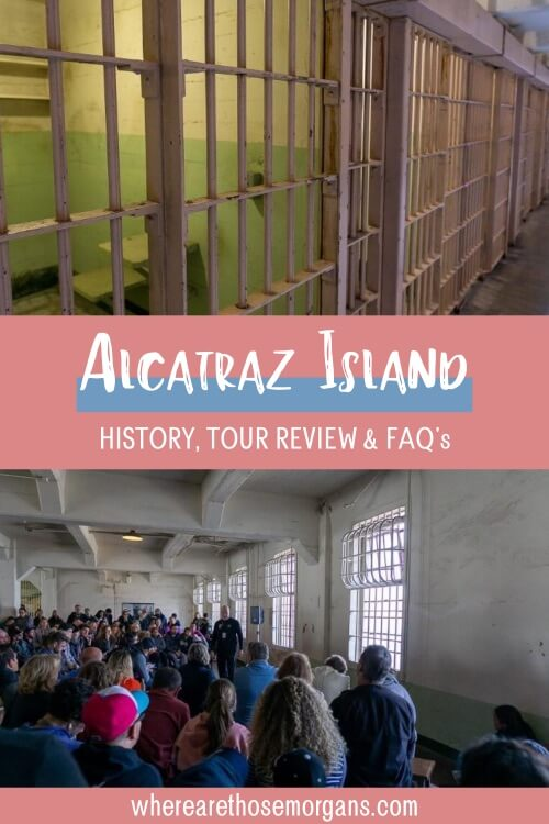 Alcatraz Island history tour review and frequently asked questions