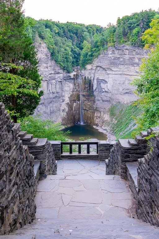 Best time to visit taughannock falls state park summer for green and fall for yellows and oranges