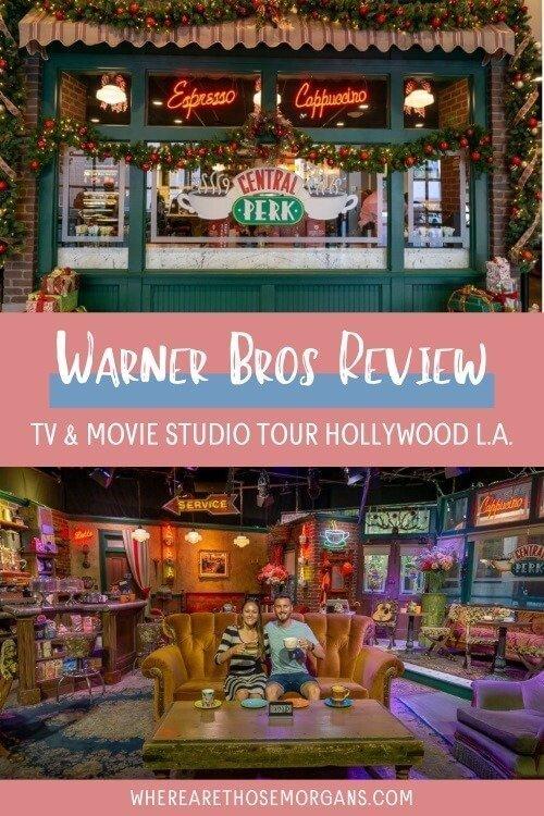 Warner Bros review tv and movie studio tour Hollywood LA