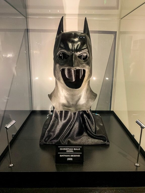 Batman Cowl worn by christian bale as batman in the dark knight trilogy