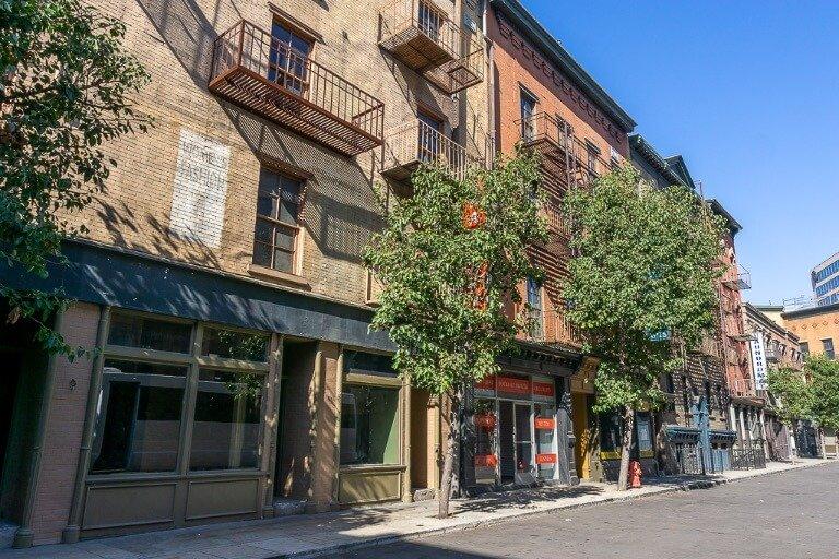Warner Bros studio tour backlots street facade